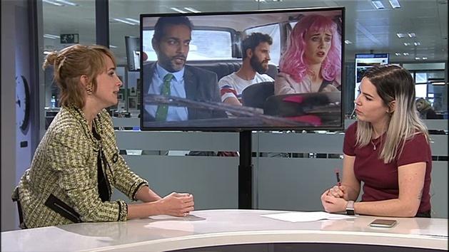 Ingrid Garcia-Jonsson coprotagoniza 'Taxi a Gibraltar' junto a Dani Rovira y Joaquín Furriel