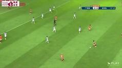 """Así juega al fútbol el Shenzhen de Jordi Cruyff: """"Mi padre estaba obsesionado con los ángulos"""""""