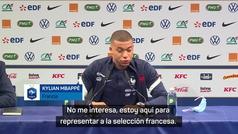 """Mbappé: """"Con todo el respeto que tengo al PSG... ahora mismo no me interesa"""""""