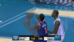 Hornets 124-126 Knicks