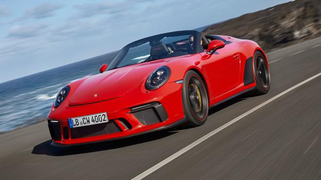 Nuevo Porsche 911 Speedster: edición limitada a 1.948 unidades