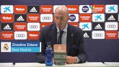 """Zidane: """"Sacamos una victoria con espíritu de equipo, estamos muy sólidos"""""""