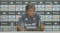 """Pellegrini no cree que sea sancionado y avisa: """"si no, dejaremos de hablar después de los partidos"""""""