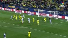 Gol de El Zhar (p.) (2-1) en el Villarreal 2-1 Leganés
