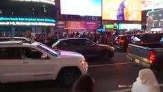 El entusiasmo por la victoria de Biden recorre las calles de Nueva York