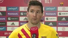 """Leo Messi: """"Es una Copa muy especial para mí por poder levantarla"""""""