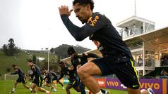 Penúltimo entrenamiento de Brasil en Teresópolis