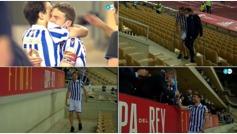 Illarramendi levantó la Copa del 'cojo': lesionado pero al borde de las lágrimas