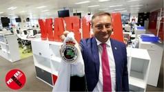 """Alfredo Pérez, presidente del Racing: """"El compromiso es llevar al equipo a Primera"""""""