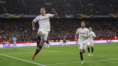 Europa League (J6): Resumen y goles del Sevilla 3-0 Krasnodar