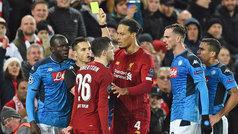 Champions League (Grupo E): Resumen y goles del Liverpool 1-1 Nápoles