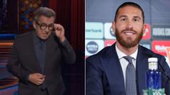 Los dardos de Buenafuente a Sergio Ramos en Late Motiv de Movistar+