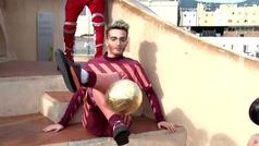 El fútbol de Messi10 en los alto de La Pedrera