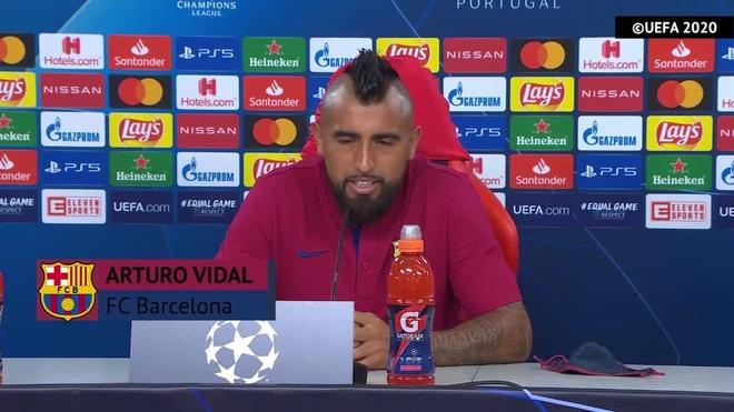 """Champions League: Arturo Vidal: """"Maana no juegan contra un equipo de la Bundesliga, lo hacen contra el Bara"""""""