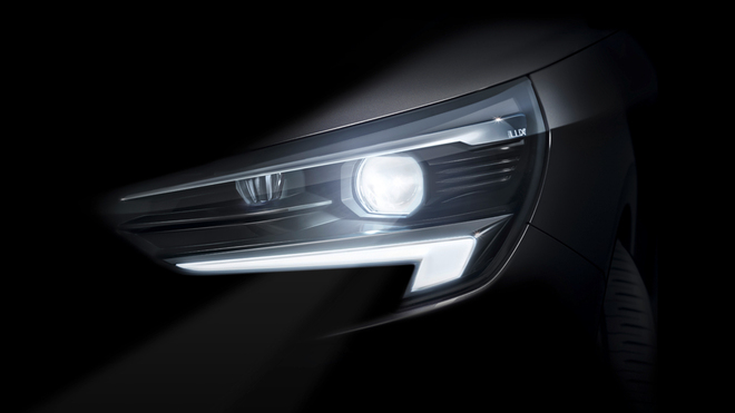 Opel Corsa 2020: con sistema IntelliLux led Matrix