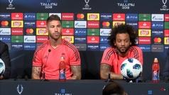 """Ramos sobre las palabras de Cristiano: """"Aquí siempre nos hemos sentido una familia. No sé por dónde van sus tiros"""""""