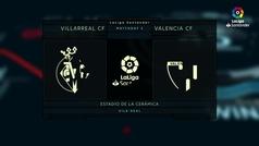 MX: LaLiga (J5): Resumen del Villarreal 0-0 Valencia