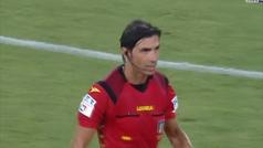 Gatusso se calienta al final del partido contra la Lazio