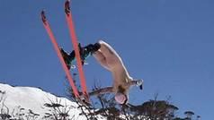 """La esquiadora que vuela desnuda y lucha contra la censurada: """"Cierra los ojos y no denuncies"""""""
