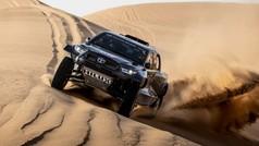 Así es el Toyota T1+ para el Dakar 2022