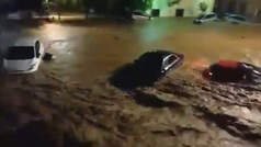 Sant Llorenç (Mallorca) queda incomunicada tras destrozarse carreteras y puentes del municipio