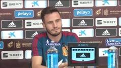 """Saúl: """"Si comparamos esta selección con la de Xavi e Iniesta, saldremos perdiendo"""""""