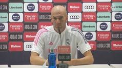 "Zidane: ""Hazard ha tenido un problema gordo..."""