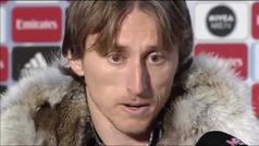 """Modric: """"Tenemos que hablar entre nosotros como hombres"""""""