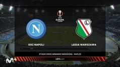 Europa League (J3): Resumen y goles del Nápoles 2-0 Legia Varsovia