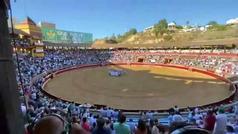 Las imágenes de la plaza de toros de Huelva que incendian las redes