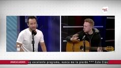 Luciano cantando con Ramón Barrenechea