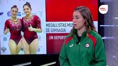 Gimnastas mexicanas visitaron las instalaciones de Claro Sports