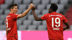 Los goles del Bayern de Múnich 5-0 Fortuna Dusseldorf