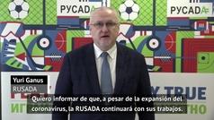 Rusia suspende los controles antidopaje por el coronavirus