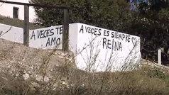 """Se busca grafitero/a poeta: """"Te quiero a veces... a veces es siempre"""""""