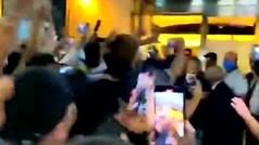 Mourinho desata pasiones en Roma: escoltado como una estrella de Hollywood tras la cena celebración
