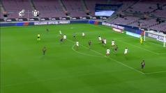 Gol de Braithwaite (3-0) en el Barcelona 3-0 Sevilla