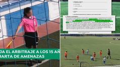 Una árbitra de 15 años deja el fútbol por las constantes amenazas de niños de 8 años