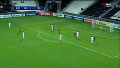 Gol de falta directa de Xavi ante el Pakhtakor en la Champions Asiática