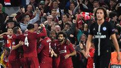 Champions League (J1): Resumen y goles del Liverpool 3-2 PSG