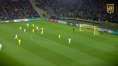 Exhibición de Cherki, la perla de 16 años del Lyon: dos goles, dos asistencias y un penalti forzado