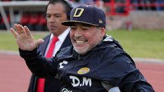 "Diego Armando Maradona: ""El árbitro totalmente nefasto"""