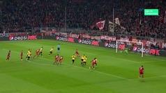 Gol de Lewandowski (p.) (1-0) en el Bayern 2-0 AEK