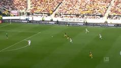 Alcácer sigue on fire: gol al Stuttgart y ya lleva 7 en cuatro partidos