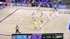 ¿El peor alley oop de la NBA? ¡En qué estaba pensando!