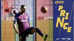 Boateng, presentado como nuevo jugador del FC Barcelona