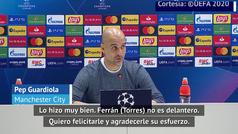 Guardiola se rinde ante Ferrán Torres, su nuevo ojito derecho