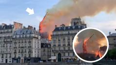 El drama en la Catedral de Notre Dame: ¡Las llamas derrumban la torre más alta!