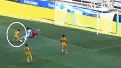 El golazo del finde llegó de Segunda B: ¡vaya recortes 'maradonianos' de Isi Ros para el UCAM Murcia!