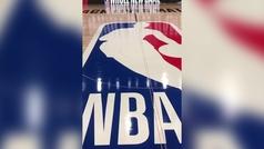 Las primeras imágenes de la pista donde se reanudará la NBA